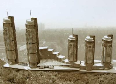 Высотность большинства новых киевских домов, построенных в 2008 году, превышает 16 этажей